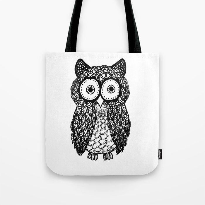 Pattern owl Tote Bag