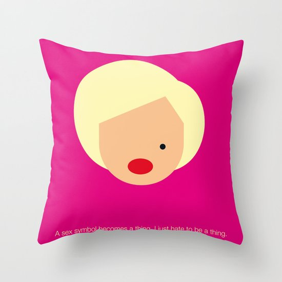 FC-Monroe Throw Pillow