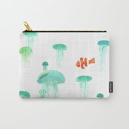 Sea of Jellies Carry-All Pouch