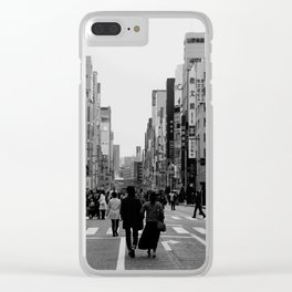 Ginza, Tokyo Clear iPhone Case