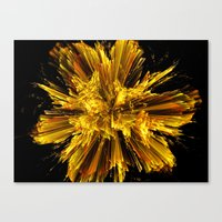 big bang Canvas Prints featuring Big Bang by Art-Motiva