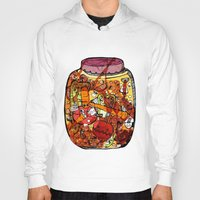 vegetables Hoodies featuring Preserved vegetables by ChiLi_biRó