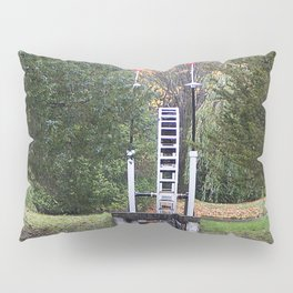 Country Water Wheel Pillow Sham