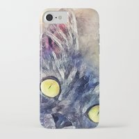 kitty iPhone & iPod Cases featuring Kitty by jbjart