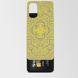 Illuminating Yellow & Ultimate Gray Pattern Android Card Case