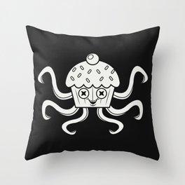Cupcaketopus! Throw Pillow