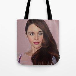 Emilia Clarke Tote Bag