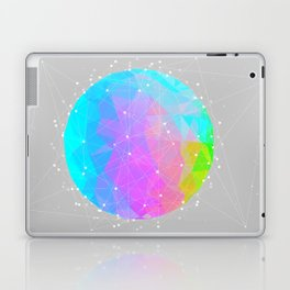 The Dots Will Somehow Connect (Geometric Sphere) Laptop & iPad Skin