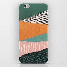 Modern irregular Stripes 02 iPhone Skin