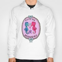 patriarchy Hoodies featuring F**K The Patriarchy by Kittymacdraws