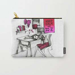 Monday Feelings Carry-All Pouch