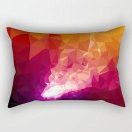 Galaxy Low Poly 44 Rectangular Pillow