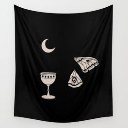 Moon Moth Chalice Wall Tapestry
