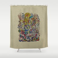 romantic Shower Curtains featuring - romantic summer - by Magdalla Del Fresto