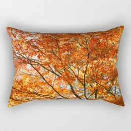 Maple tree foliage Rectangular Pillow