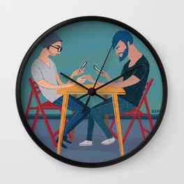 ALIENATION Wall Clock