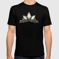 Rapunzel's Crown Mens Fitted Tee MEDIUM Black