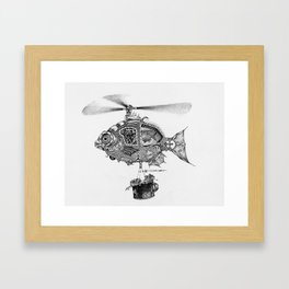 Weebits Flying Fish Excursion Framed Art Print