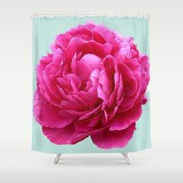 Pink peony Shower Curtain
