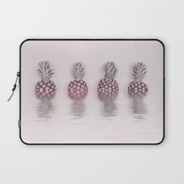 Pink Pineapple In The Water Laptop Sleeve