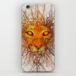 Lion Drip iPhone Skin