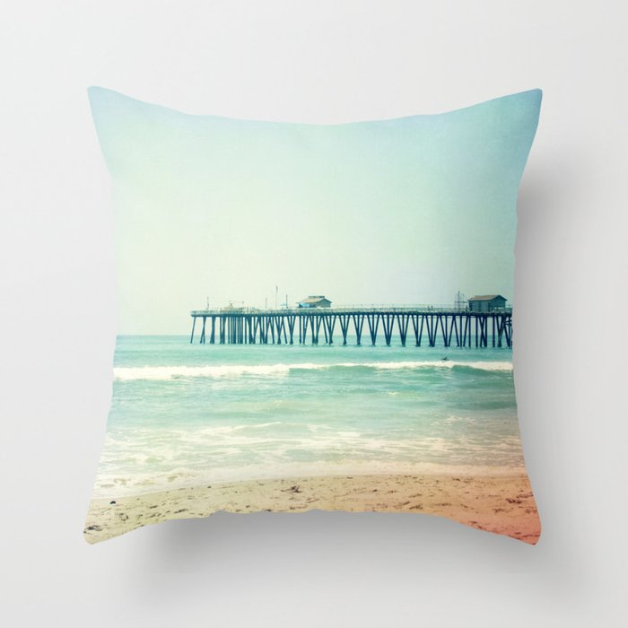 Summer Days Throw Pillow