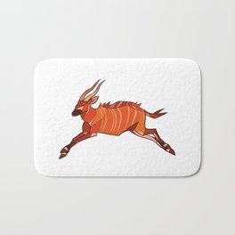 Bongo Antelope Bath Mat