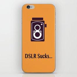 DSLR Sucks iPhone Skin