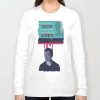 kerouac Long Sleeve T-shirts featuring ... Best Teacher | Jack Kerouac by PhraseCrowd