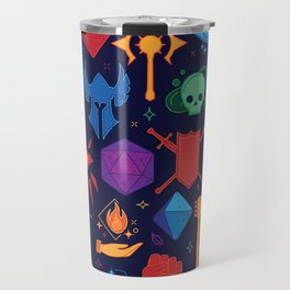 TTRPG Forever - Color Travel Mug