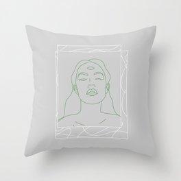 Sophrosyne Throw Pillow
