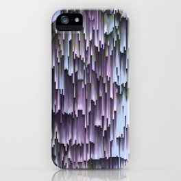 Lilac Blue Sky Abstract iPhone Case