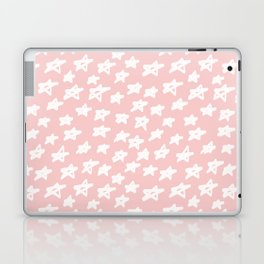 Stars on pink background Laptop & iPad Skin