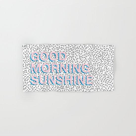 Rise and Shine Hand & Bath Towel