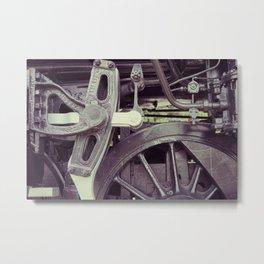 Caliper Metal Print
