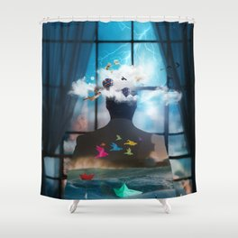 Melancholia by GEN Z Shower Curtain