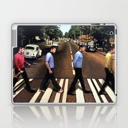 Boldly going on Abbey Road Laptop & iPad Skin