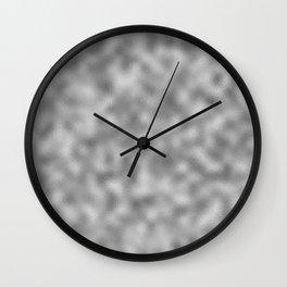 Silver Foil Wall Clock
