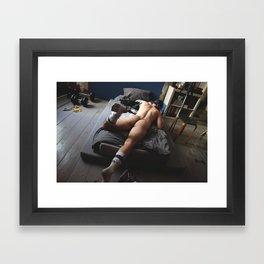 Le Male Framed Art Print