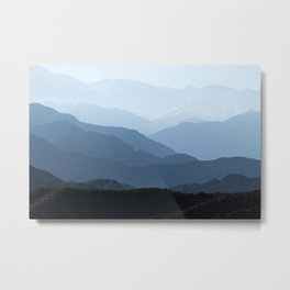 Andes mountains. Metal Print