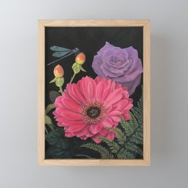 Damsel & Daisy Framed Mini Art Print