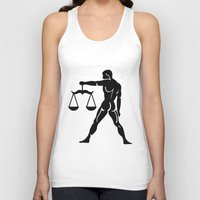 libra Tank Tops featuring Libra by PSimages