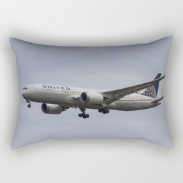 United Airlines Boeing 787 Rectangular Pillow
