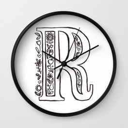 R is for Wall Clock