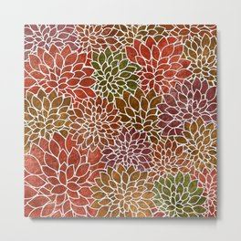 Floral Abstract 31 Metal Print