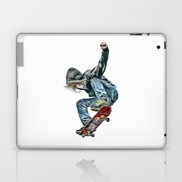 Skateboarder Laptop & iPad Skin