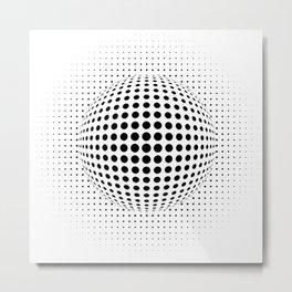 dots Metal Print