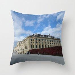 Vienna Schonbrunn Colors Throw Pillow