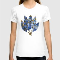 gatsby T-shirts featuring Gatsby Five Feathers by Jennifer Lambein
