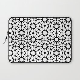 Arabesque in black and white Laptop Sleeve